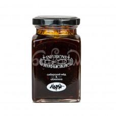 Десерт медовый Мусихин Мир Меда 300гр Сибирский Мед и Облепиха ст/б
