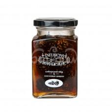 Десерт медов Мусихин Мир Меда 300гр Сибирский Мед и Сосновые Шишки ст/б