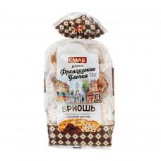 Булочки Бриошь Французские Улочки Смак 240гр с Кусочками шоколада