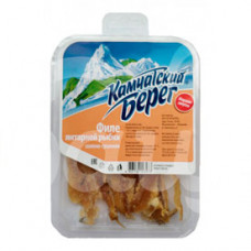 Рыбка янтарная филе Камчатский Берег 70гр Солен-сушеное
