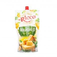 Майонез Mr.Ricco 50% 375гр Сыр дой-пак