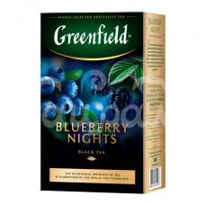 Чай Greenfield 100гр  Blueberry Nights Черный Листовой