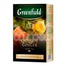 Чай Greenfield 100гр Quince Ginger Зеленый Листовой