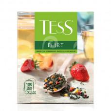 Чай Tess 100*1.5гр Flirt Зеленый