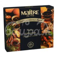 Набор чая и чайных напит Maitre De The 25*2гр 5*1.75гр 6 вкусов