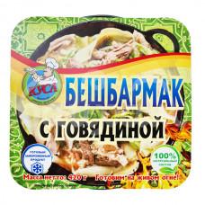 Бешбармак 420гр Говядина  Кусинские готовые продукты