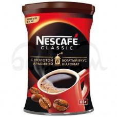 Кофе Nescafe Classic 85гр Растворимый с Добавл молотого ж/б