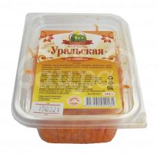 Морковь по-корейски Ергачинские Разносолы 160гр Уральская контейнер