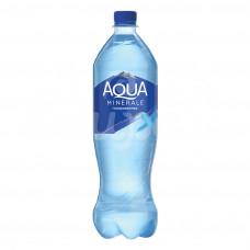 Вода Аква Минерале 1л газ пэт