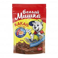 Какао-напиток Горячий Шоколад Белый Мишка 150гр Растворимый