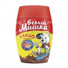 Какао-напиток Белый Мишка 300гр Растворимый Гранулированный пл/б