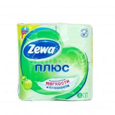 Бумага туалетная Zewa Плюс 2сл 4шт Аромат яблока