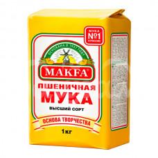 Мука Макфа 1кг Пшеничная в/с
