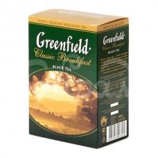 Чай Greenfield 100гр Classik Breakfast Черный Индийский Листовой