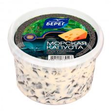 Салат из Морской капусты  Балтийский Берег 250гр Майонез Сыр