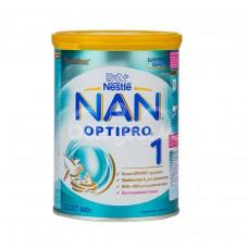 Детское питание Смесь Nan-1 400гр с рождения Optipro ж/б