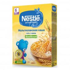 Детское питание Каша Nestle 200гр Безмолочная Мультизлаковая 5 злаков