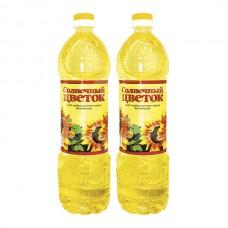Масло растительное Солнечный Цветок 0.87л Подсолнечн Рафинированное пэт