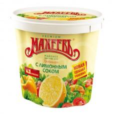 Майонез Махеев 55.5% 800гр Прованс Премиум с Лимон соком ведро