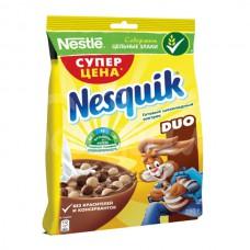 Завтрак сухой Несквик Дуо 250гр Шоколадные шарики пакет