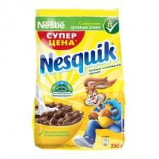 Завтрак сухой Несквик 250гр Шоколадные шарики пакет