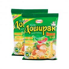 Лапша б/п Квисти Доширак 70гр  Вкус курицы пакет