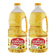 Масло растительное Корона Изобилия 1.7л Подсолнечн Рафинированное пэт